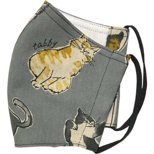 個性豊かな猫たちの秋冬布マスク|yume-ribbon|03