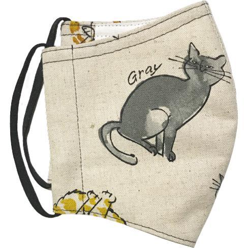 個性豊かな猫たちの秋冬布マスク|yume-ribbon|06