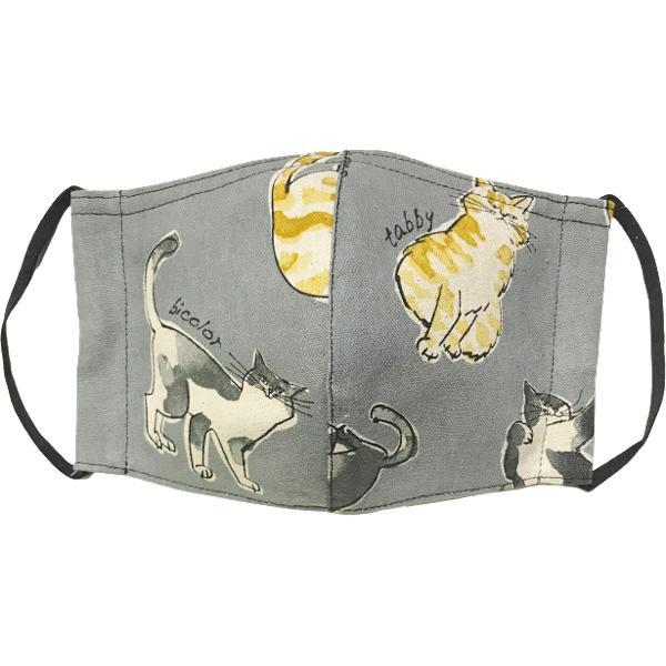 個性豊かな猫たちの秋冬布マスク|yume-ribbon|07
