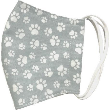 肉球柄プリントの布マスク 猫 犬 日本製 コットン100%|yume-ribbon|11