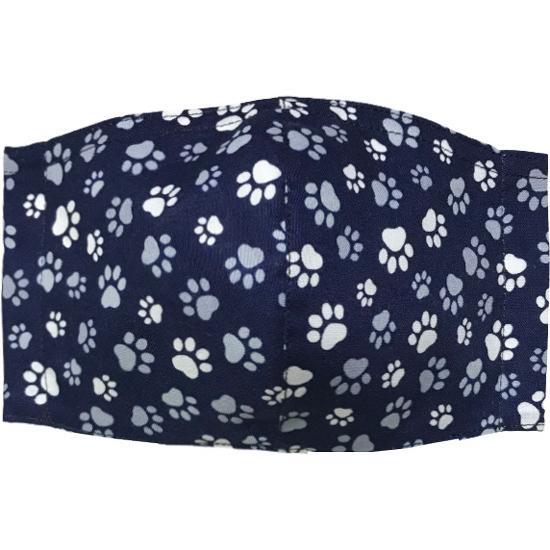 肉球柄プリントの布マスク 猫 犬 日本製 コットン100%|yume-ribbon|12