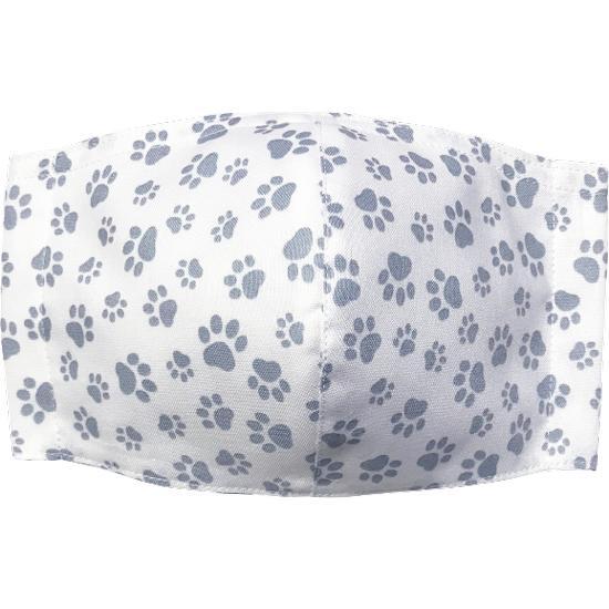 肉球柄プリントの布マスク 猫 犬 日本製 コットン100%|yume-ribbon|13