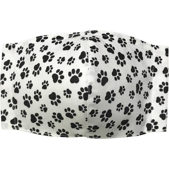 肉球柄プリントの布マスク 猫 犬 日本製 コットン100%|yume-ribbon|14