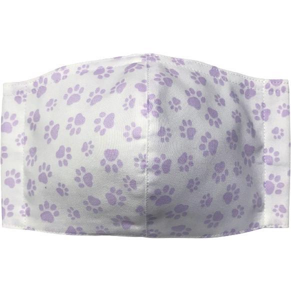 肉球柄プリントの布マスク 猫 犬 日本製 コットン100%|yume-ribbon|16