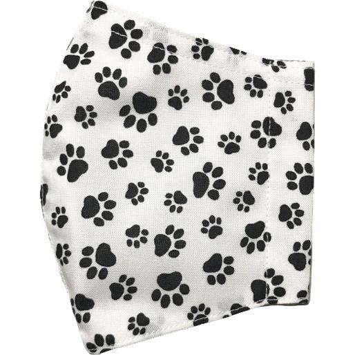 肉球柄プリントの布マスク 猫 犬 日本製 コットン100%|yume-ribbon|18