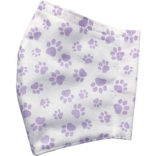 肉球柄プリントの布マスク 猫 犬 日本製 コットン100%|yume-ribbon|19