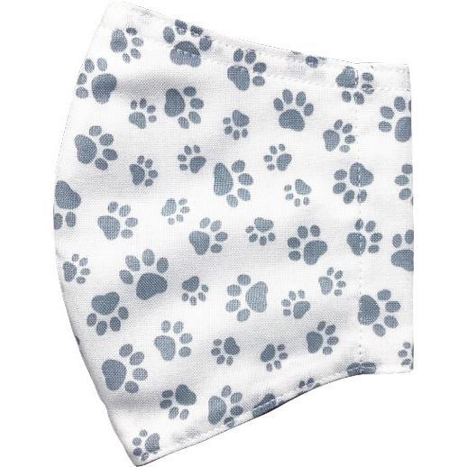 肉球柄プリントの布マスク 猫 犬 日本製 コットン100%|yume-ribbon|20