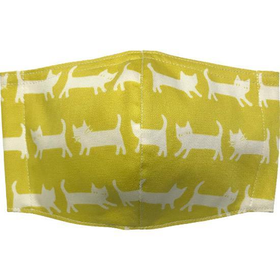 ネコさんが一列に並んでとっても可愛い布マスク |yume-ribbon|04