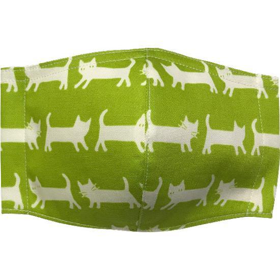 ネコさんが一列に並んでとっても可愛い布マスク |yume-ribbon|05