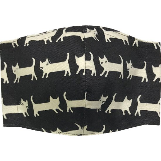 ネコさんが一列に並んでとっても可愛い布マスク |yume-ribbon|07