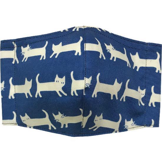 ネコさんが一列に並んでとっても可愛い布マスク |yume-ribbon|08