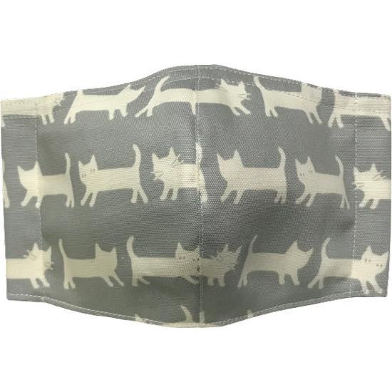 ネコさんが一列に並んでとっても可愛い布マスク |yume-ribbon|09