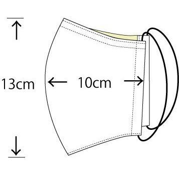 ガーゼに肉球柄プリントの布マスク  ふんわりダブルガーゼダ 猫 犬 日本製 コットン100%|yume-ribbon|13