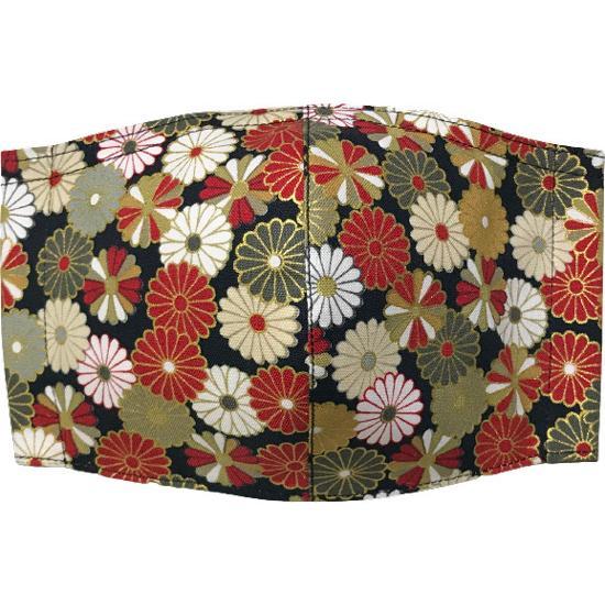 和風和柄の布マスク-3 海外へのお土産に最適 |yume-ribbon|02