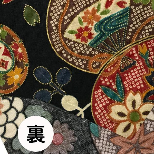 和風和柄の布マスク-3 海外へのお土産に最適 |yume-ribbon|12