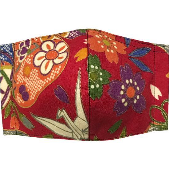 和風和柄の布マスク-3 海外へのお土産に最適 |yume-ribbon|06