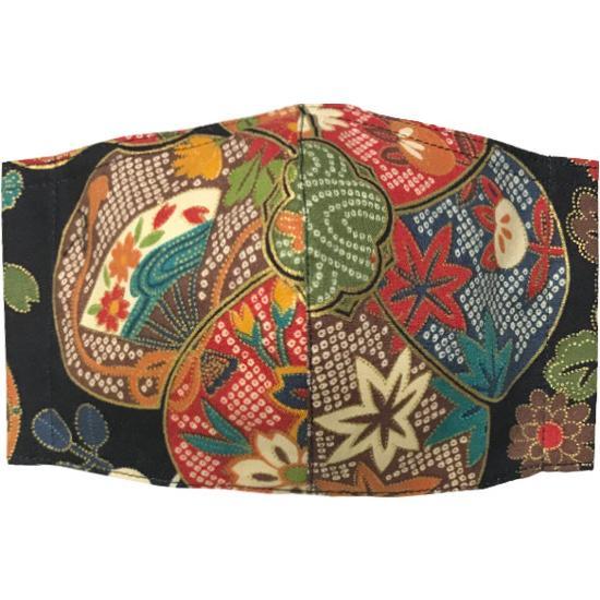和風和柄の布マスク-3 海外へのお土産に最適 |yume-ribbon|08