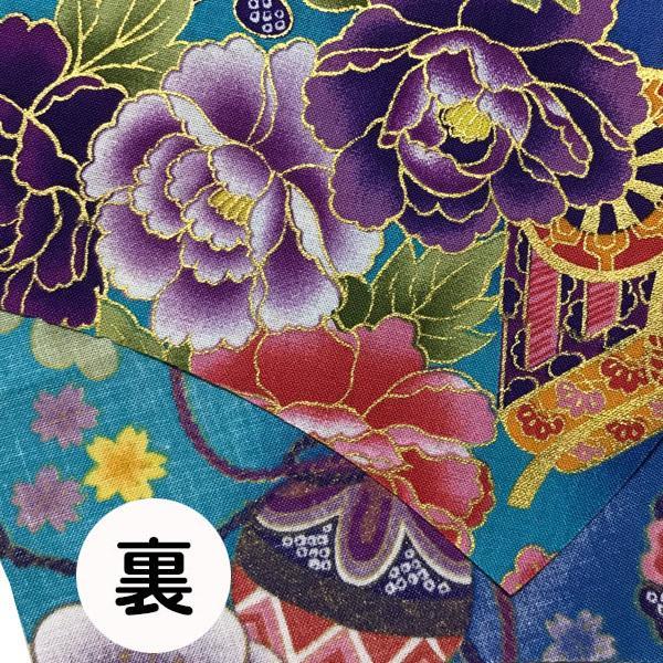 和風和柄の布マスク-3 海外へのお土産に最適 |yume-ribbon|09