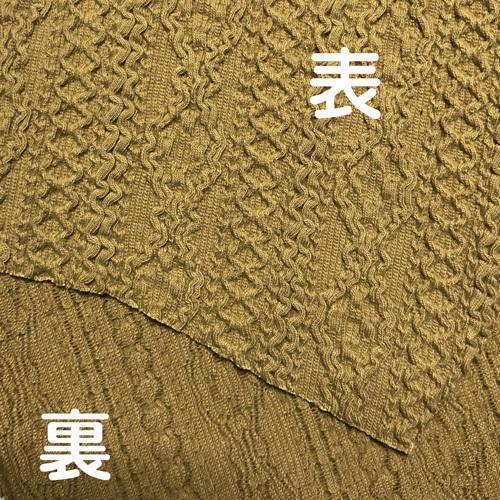 アラン模様ニットを表側に、抗菌作用のあるダブルガーゼを内側に使ったあったか布マスク 日本製|yume-ribbon|14