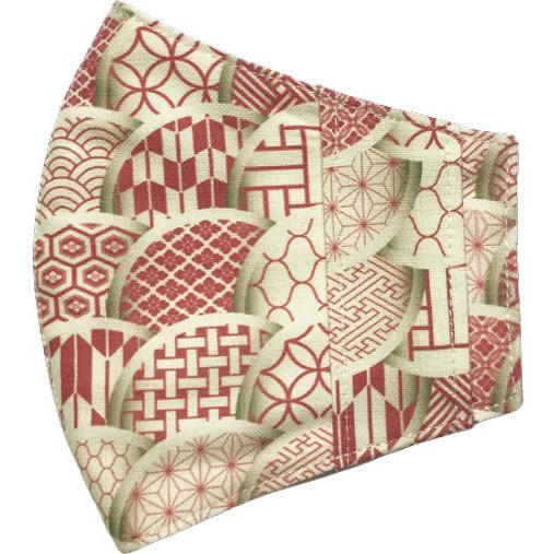 和モダンマスクカバー 不織布マスクを外側につけるタイプ 市販の大人用M・Lサイズの不織布マスク用  肌側に抗ウイルス・抗菌素材使用 日本製 yume-ribbon 13