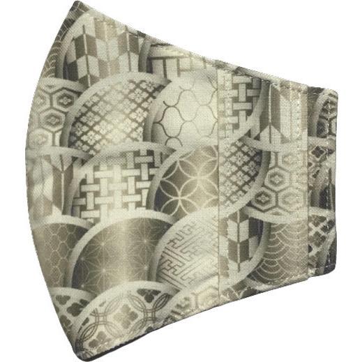 和モダンマスクカバー 不織布マスクを外側につけるタイプ 市販の大人用M・Lサイズの不織布マスク用  肌側に抗ウイルス・抗菌素材使用 日本製 yume-ribbon 05