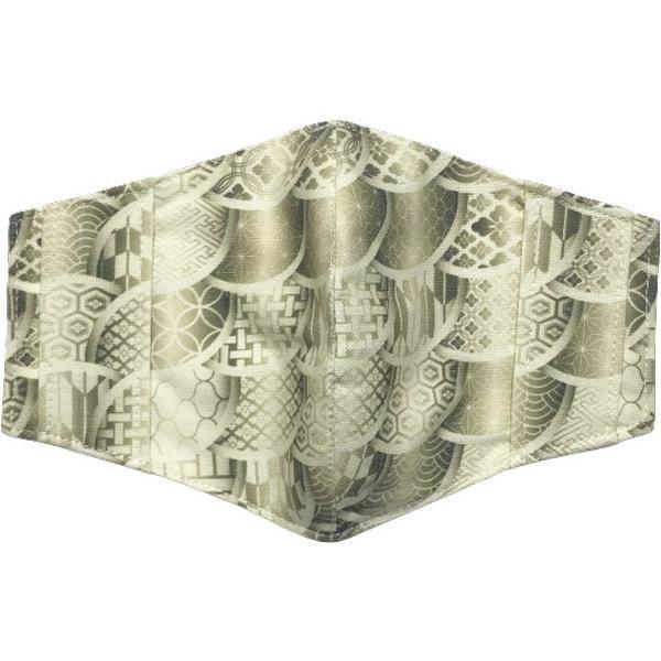 和モダンマスクカバー 不織布マスクを外側につけるタイプ 市販の大人用M・Lサイズの不織布マスク用  肌側に抗ウイルス・抗菌素材使用 日本製 yume-ribbon 06
