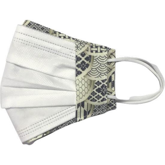 和モダンマスクカバー 不織布マスクを外側につけるタイプ 市販の大人用M・Lサイズの不織布マスク用  肌側に抗ウイルス・抗菌素材使用 日本製 yume-ribbon 07