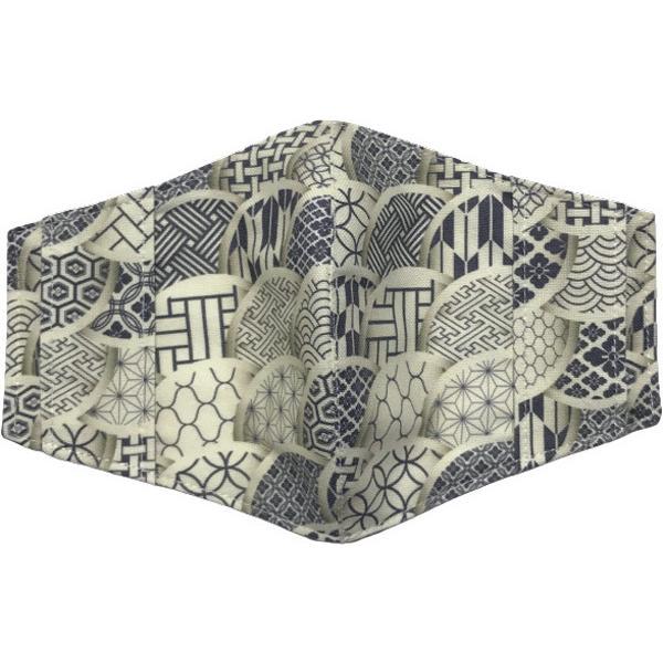 和モダンマスクカバー 不織布マスクを外側につけるタイプ 市販の大人用M・Lサイズの不織布マスク用  肌側に抗ウイルス・抗菌素材使用 日本製 yume-ribbon 10