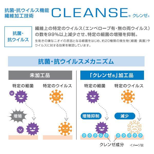 不織布マスクがそのまま使える布マスクカバー 白ネコプリント 肌側に抗ウイルス・抗菌素材使用 猫 日本製 コットン100% yume-ribbon 13