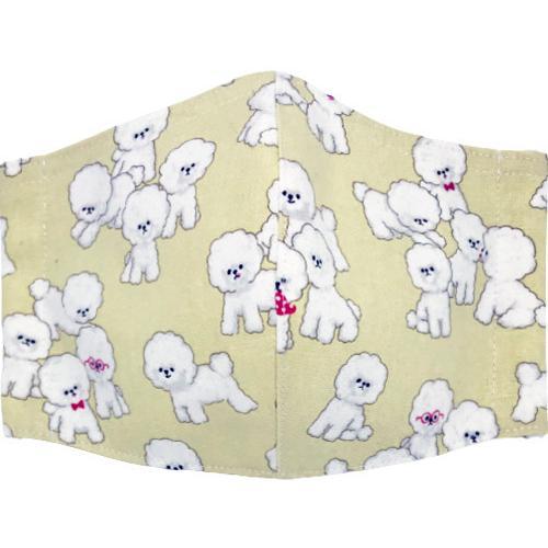 可愛い子犬が一杯の布マスク|yume-ribbon|06