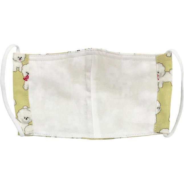 可愛い子犬が一杯の布マスク|yume-ribbon|09