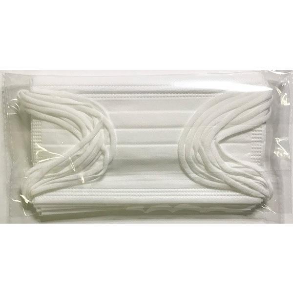 無地カラー不織布マスク10枚 ハイクオリティタイプ 耳が痛くなりにくいソフトな4mm平ゴム使用 yume-ribbon 11