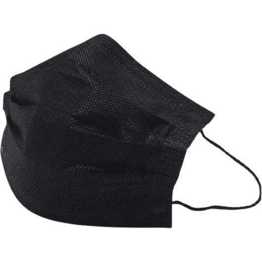 無地カラー不織布マスク10枚 ハイクオリティタイプ 耳が痛くなりにくいソフトな4mm平ゴム使用 yume-ribbon 08