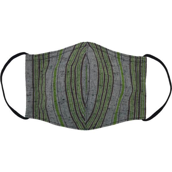 綿紬の和風おしゃれマスク yume-ribbon 11