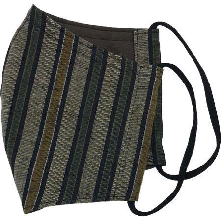 綿紬の和風おしゃれマスク yume-ribbon 15