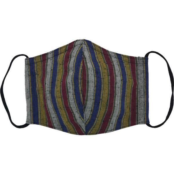 綿紬の和風おしゃれマスク yume-ribbon 09