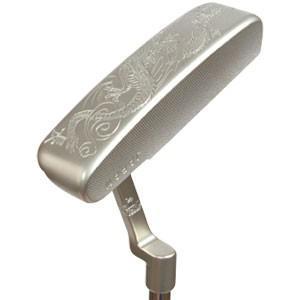 極貴重 手彫り 生鉄銀龍パター