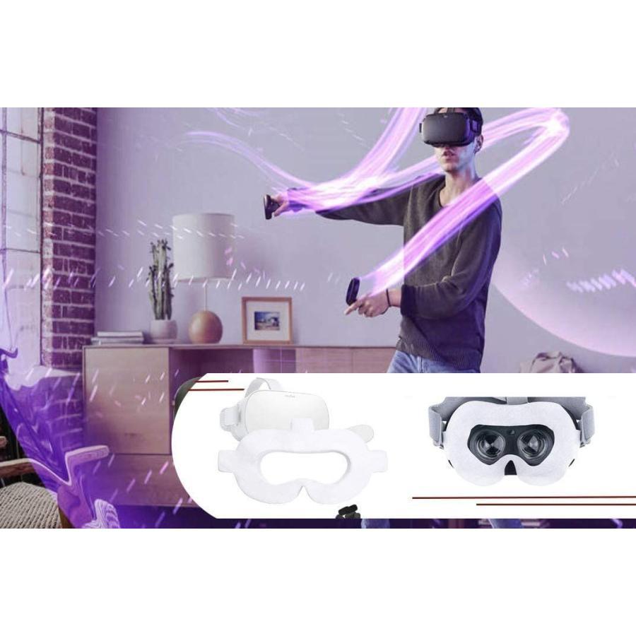T&B 100枚 Oculus Quest/Oculus Go VR体験用 衛生布 アイマスク VR MASK|yumecocoro|02