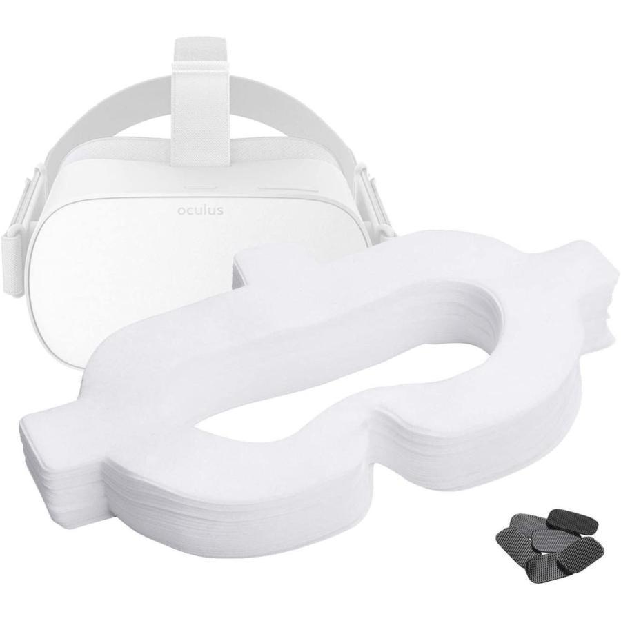 T&B 100枚 Oculus Quest/Oculus Go VR体験用 衛生布 アイマスク VR MASK|yumecocoro|06