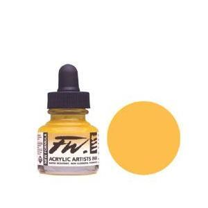 インク DALER ROWNEY アクリルインク 29.5ml イエローオーカー yumegazai