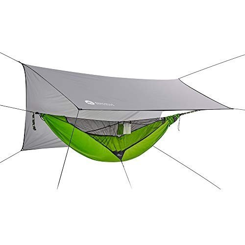 Easthills Outdoors (イーストヒルズ) Skyloft 超軽量 キャンプ ハンモック 304cmx142cm 1人用 オールインワ