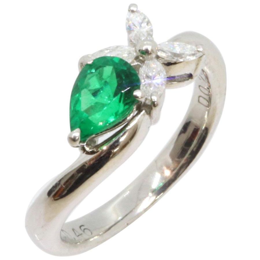【25%OFF】 エメラルド ダイヤモンド Emerald リング Pt900 0.20ct 0.46ct Pt900 7号 指輪 7号 5月 Diamond Emerald, ワイエムカンパニー:217ccde9 --- airmodconsu.dominiotemporario.com