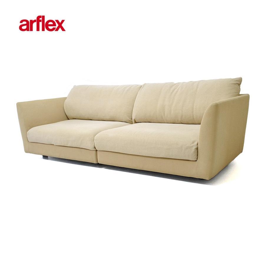 中古 中古 『展示品』ARFLEX A・SOFA 4P アルフレックス 4人掛けアームソファ