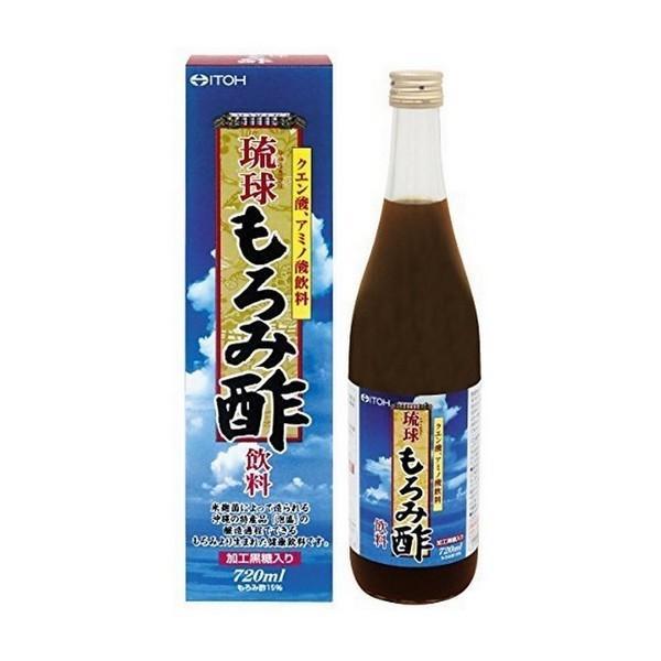 《井藤漢方製薬》 琉球もろみ酢飲料 720ml (清涼飲料水)|yumekurage