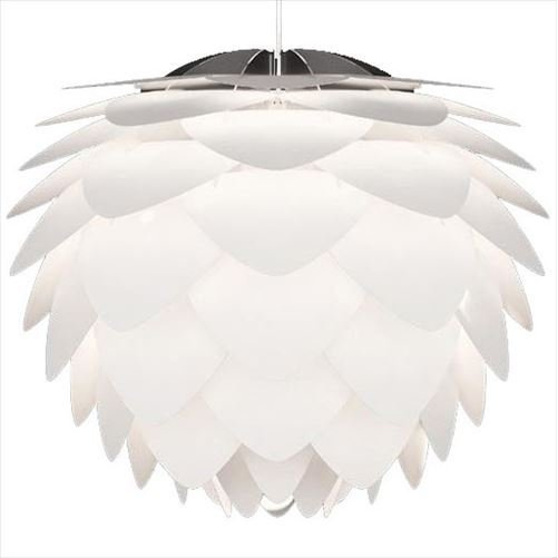 ELUX(エルックス) VITA(ヴィータ) SILVIA ペンダントランプ 3灯 ホワイトコード 02007-WH-3 (APIs)