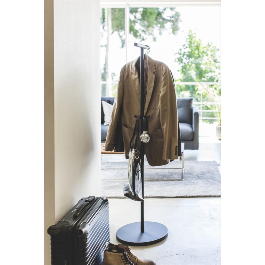 ポールハンガー スマート ハンガーラック コートラック 衣類収納 ワードローブ ハンガー スリム省スペース おしゃれ 人気|yumeoffice|14