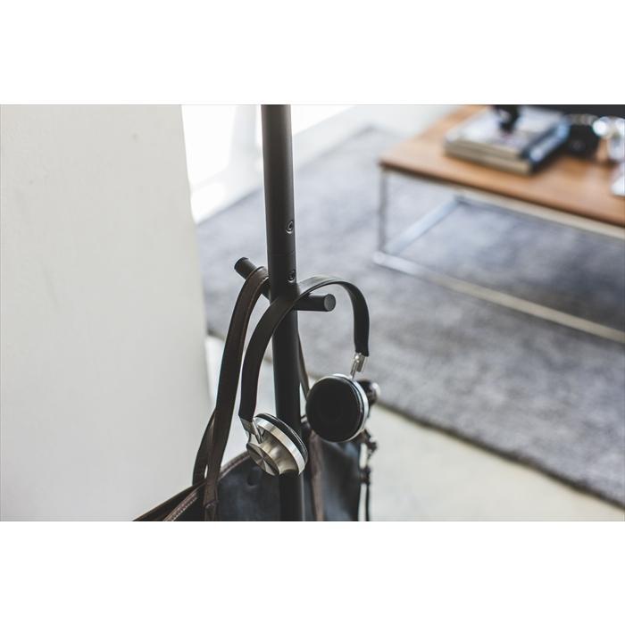 ポールハンガー スマート ハンガーラック コートラック 衣類収納 ワードローブ ハンガー スリム省スペース おしゃれ 人気|yumeoffice|15