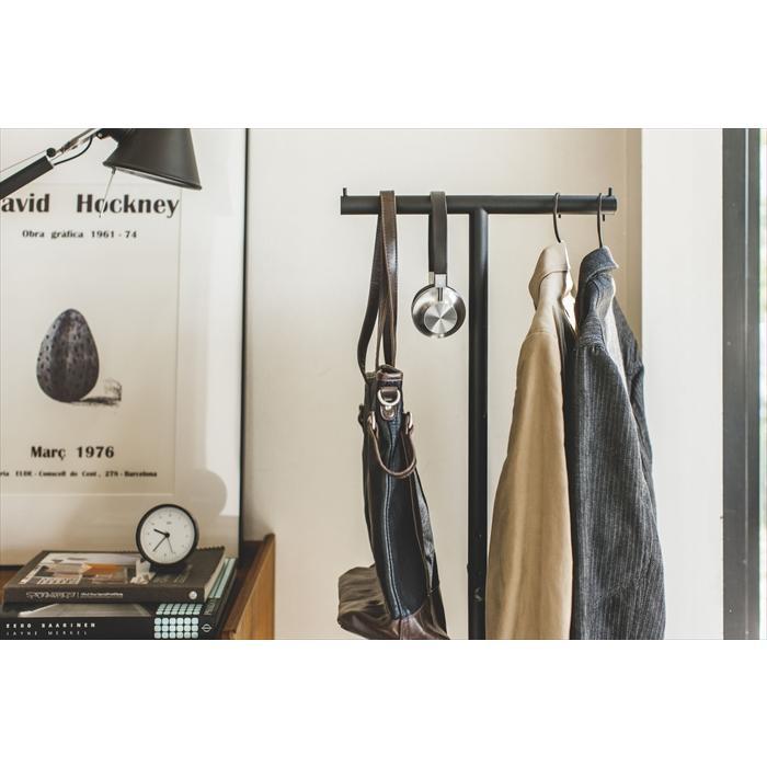 ポールハンガー スマート ハンガーラック コートラック 衣類収納 ワードローブ ハンガー スリム省スペース おしゃれ 人気|yumeoffice|16