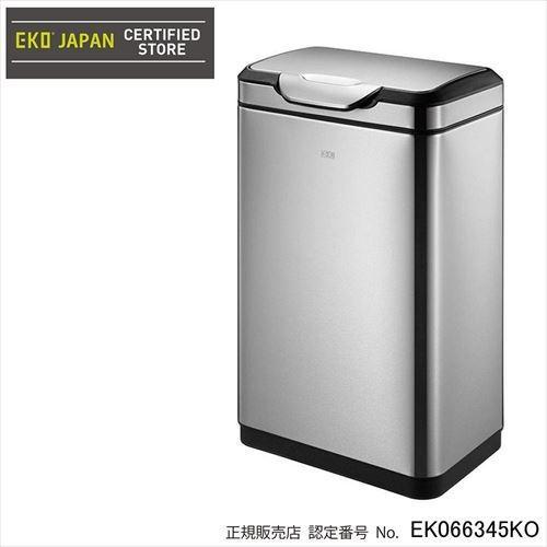 EKO(イーケーオー) ステンレス製ゴミ箱(ダストボックス) タッチプロ ビン 30L シルバー EK9178MT-30L (APIs)