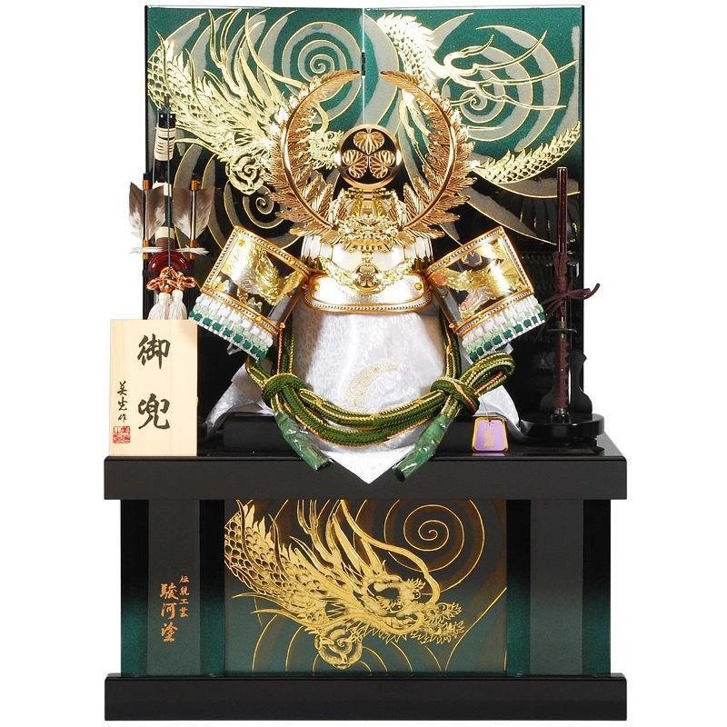 五月人形 着用 兜 収納飾り 徳川家康 幅60cm [sb-19-162]